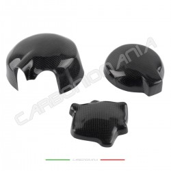 Carbon fiber carter cover for kawasaki ZX-6 R 2005 2006