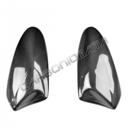 Carbon tank side guards for Kawasaki ZX-10 R 2011 2015