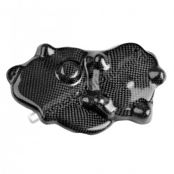 Carbon fiber carter cover for kawasaki ZX-6 R 2009 2018