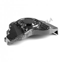 Carbon fiber sprocket cover Kawasaki ZX-10 R 2016 2019 Performance Quality