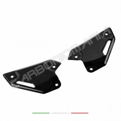 Carbon fiber heel guards Kawasaki Z 900 2017 2018 Performance Quality