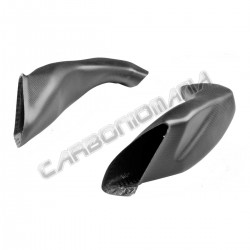 Carbon air ducts matt version for Suzuki GSX-R 1000 2017 2018 2019