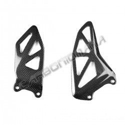 Carbon fiber heel guards Suzuki GSX-R 1000 2017 2018 2019 Performance Quality