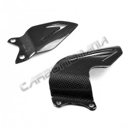 Carbon fiber heel guards Triumph Daytona 675 2013 Performance Quality