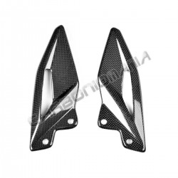 Carbon heel guards Triumph Street Triple 765 RS 2016 2017 Performance Quality