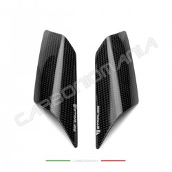 Glossy carbon tail sliders protectors Yamaha R1 2015 2020 (Strauss Line)