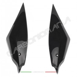 Carbon fiber side panels under tank Yamaha R6 2017 2018 2019 Performance Quality