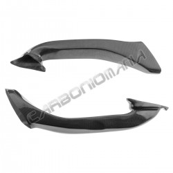 Carbon fiber air ducts for SBK Ducati 848 1098 1198