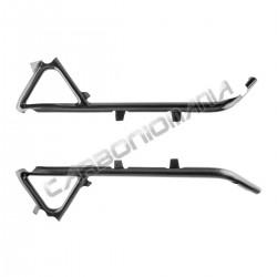 Carbon fiber frame cover for Ducati 848 1098 1198