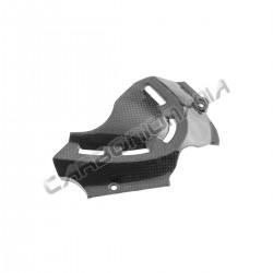 Carbon fiber sprocket cover for Ducati 848 1098 1198