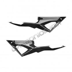Carbon fiber tank side panels for Ducati 848 1098 1198 Performance Quality