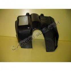 Carbon fiber cover engine for Aprilia CAPONORD