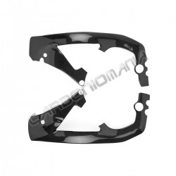 Carbon fiber frame cover for Honda CBR 1000 RR 2006 2007