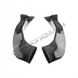 Carbon fiber air ducts for HONDA CBR 1000 RR 2008 2011