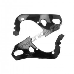 Carbon fiber frame cover for Honda CBR 1000 RR '08 '16