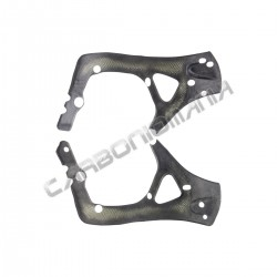 Carbon fiber frame cover for Honda CBR 600 RR 2009 2016