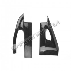 Carbon fiber swingarm cover for Honda CBR 600 RR '09 '16