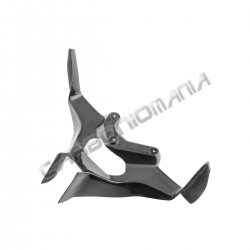 Carbon fiber fairing bracket for MV Agusta F3