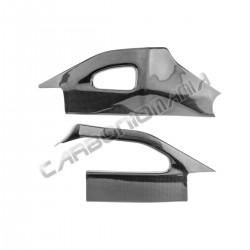 Carbon fiber swingarm cover for Suzuki GSX R 1000 2005 2006