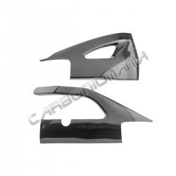 Carbon fiber swingarm cover for Suzuki GSX-R 1000 2007 2008