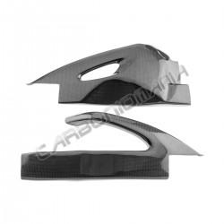 Carbon fiber swingarm cover for Suzuki GSX-R 600 750 2006 2007