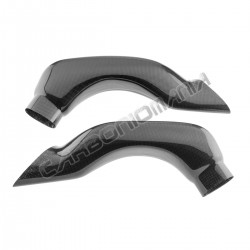 Carbon fiber air ducts for Suzuki GSX-R 600 750 2008 2010