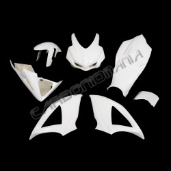 Glass resin racing motorcycle fairing for Suzuki GSX-R 600 750 2008 2010