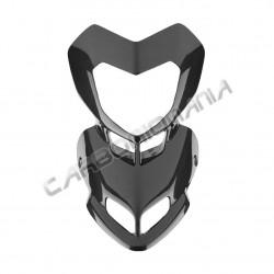 Carbon fiber front fairing spout Ducati Hypermotard 1100 1100 S Performance Quality