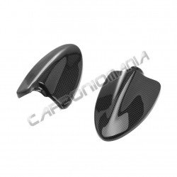Carbon fiber mirror covers  for Ducati Hypermotard 796 1100 Performance Quality