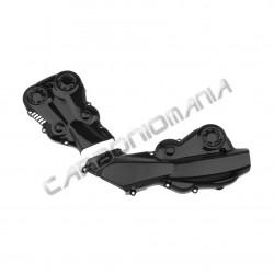 Carbon fiber belt covers for Ducati Monster 821 1200 2015 Performance Quality