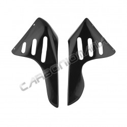 Carbon fiber radiator panels for Ducati Monster S4 S4R S4RS Performance Quality