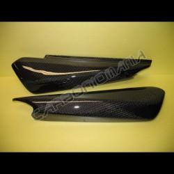 Carbon fiber under saddle side panels for Ducati Monster