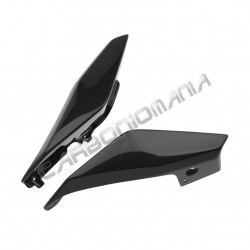 Carbon fiber rear underseat panels for Yamaha MT-09 2014 Performance Quality