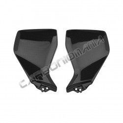 Carbon fiber under tank side panels for Yamaha MT-09 2014 Performance Quality