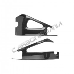 Carbon fiber swingarm cover for Yamaha R1 2007 2008