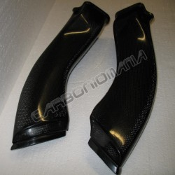 Carbon fiber air ducts for YAMAHA R1 2009 2014