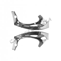 Carbon fiber frame cover for Yamaha R1 2009 2014