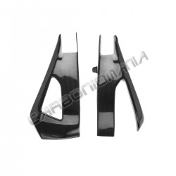 Carbon fiber swingarm cover for Yamaha R1 2009 2014