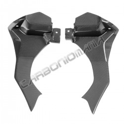 Carbon fiber air ducts cover for Yamaha R1 2015 2019 Performance Quality
