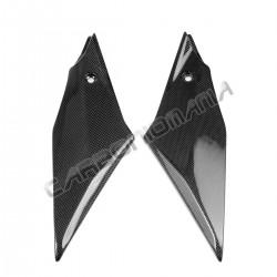 Carbon fiber side panels under fairing for Yamaha R1 2015 2019 Performance Quality