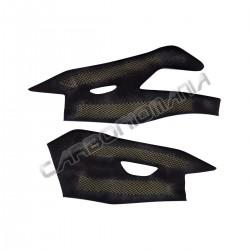 Carbon fiber swingarm cover for Yamaha R1 2015 2019
