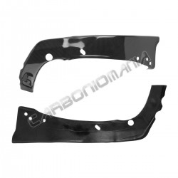 Carbon fiber frame cover for Yamaha R6 2006 2007
