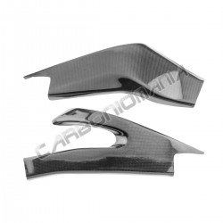 Carbon fiber swingarm cover for Yamaha R6 2006 2007