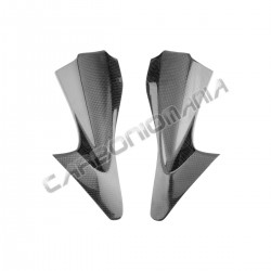 Carbon fiber under fairing panels for Yamaha R6 2006 2007
