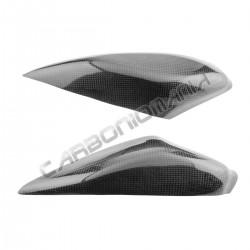 Carbon fiber tank side panels for YAMAHA R6 '08 '16