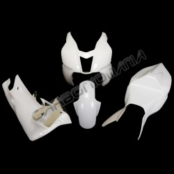 Glass resin racing motorcycle fairing for Aprilia RSV 1000 2004 2008