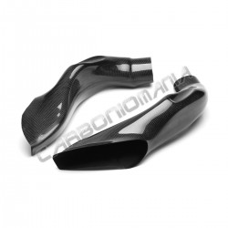 Carbon fiber air ducts for Aprilia RSV4 2009 2012