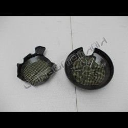 Carbon fiber carter cover for Aprilia TUONO V4