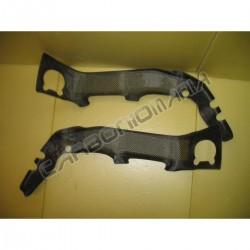 Carbon fiber frame cover for Aprilia RSV4 2009 2012