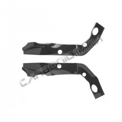 Carbon fiber frame cover for BMW S 1000 R 2014 2016